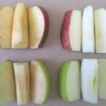 oxidizing apple